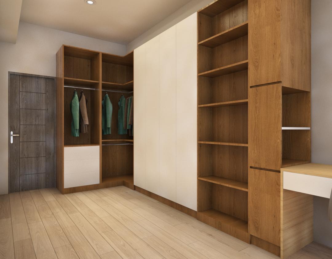 住宅空間-更衣室